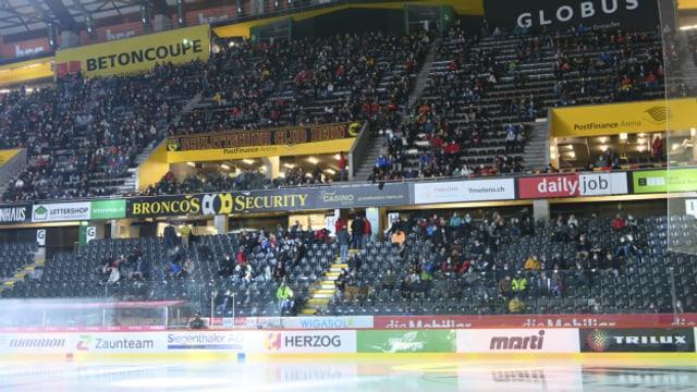 Im Kanton Bern werden wieder nur 1000 Zuschauerinnen und Zuschauer zugelassen.