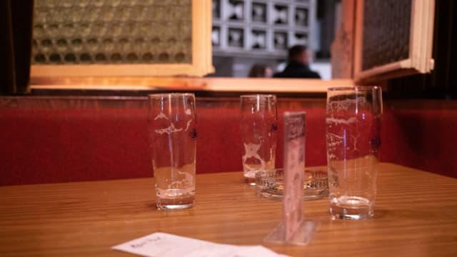 Ausgetrunken: Restaurants müssen um 23 Uhr schliessen.