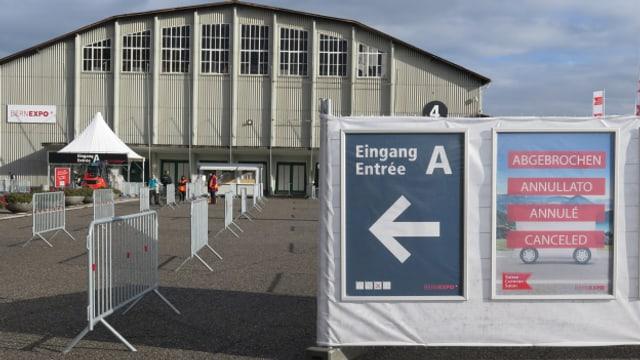 Nach zwei Tagen abgebrochen: Der Caravan Salon in Bern.