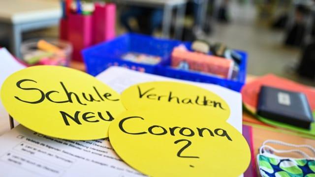 Das Coronavirus stellt die Schulen vor grosse Herausforderungen.