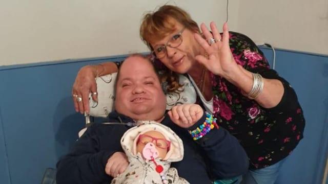 Darcy (34) ist mehrfach behindert, das Coronavirus wäre für ihn eine grosse Gefahr
