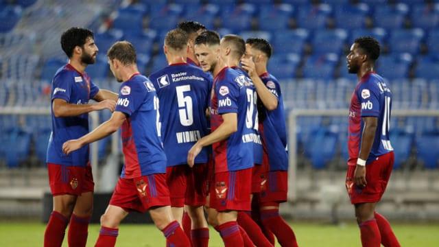 Der FC Basel zitterte sich nach klarem Vorsprung in die nächste Runde.