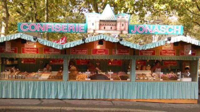 Die Confiserie Jonasch ist seit mehr als 100 Jahren an der Basler Herbstmesse.