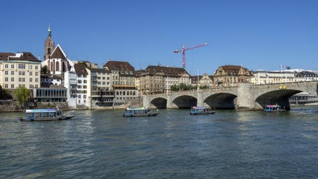 Baslerinnen und Basler geben ihrer Stadt gute Noten bei der Lebensqualität.
