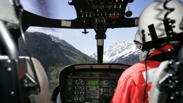 Keine Landung in Davos.