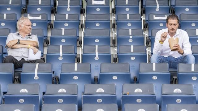 Das Allmend-Stadion darf sich wieder füllen, doch die Hälfte der Plätze muss frei bleiben.