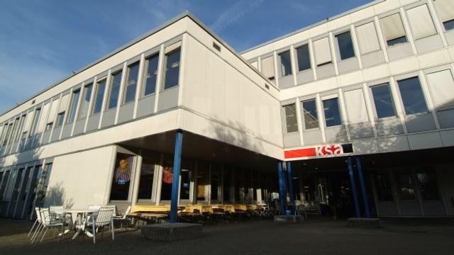 Weicht einem Neubau für 83 Millionen Franken: Die heutige Anlage der Kantonsschule Ausserschwyz in Pfäffikon