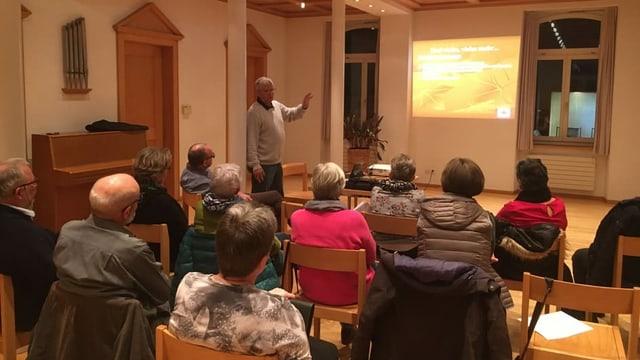 Chor Surselva: festa da chant en il Canada