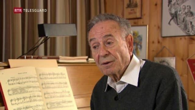 Gion Giusep Derungs (*1932) - cumponist e dirigent