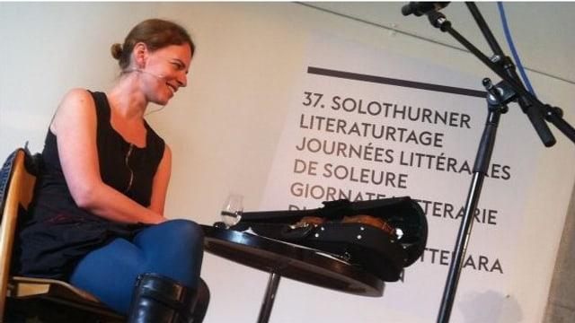 Eine literarisch-musikalische Matinée von den Solothurner Literaturtagen u.a. mit Uta Köbernick.