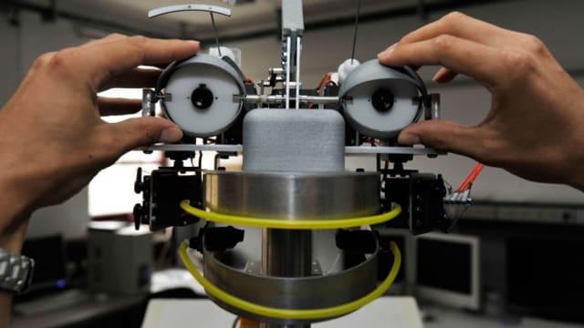 Roboter für die Pflege: Der IURO-Roboter soll sprechen, hören, sehen und sogar Gefühle darstellen.