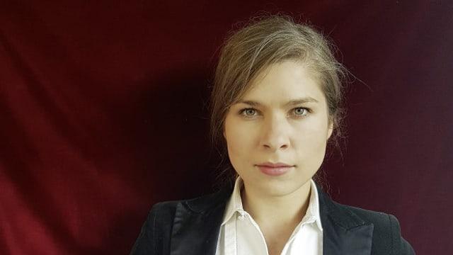 Die deutsche Autorin Nele Pollatschek