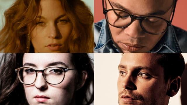 Covern was das Zeug hält: Anna Rossinelli, Marc Sway, Bastian Baker und Veronica Fusaro (im Uhrzeigersinn von oben links)