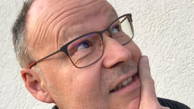 Live zu Gast: Markus «Hörnli» Huber, Lieder-Arrangeur der Luzerner Guggen-Musik Rotsee-Husaren