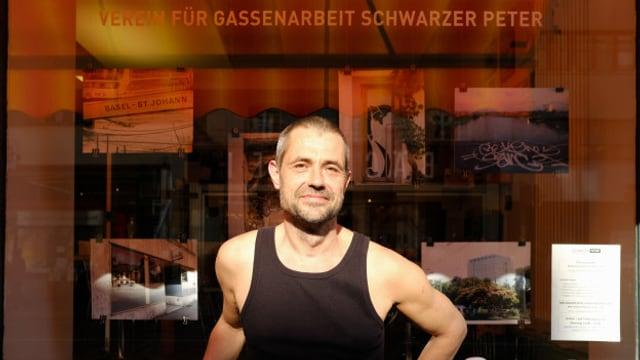 Gassenarbeiter Michel Steiner (50)