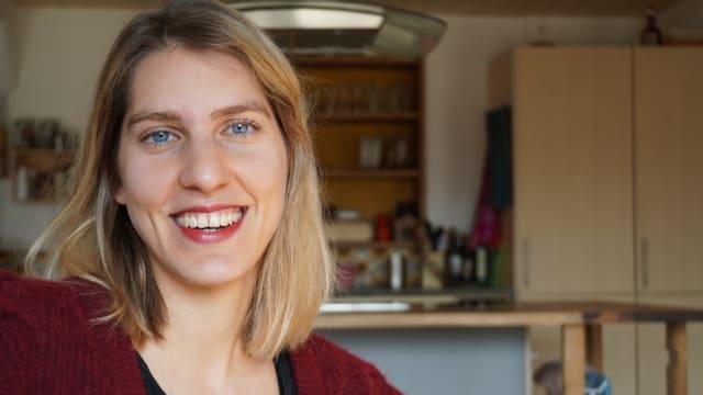 Julia Lehmann (29) arbeitet in einem Kinderheim