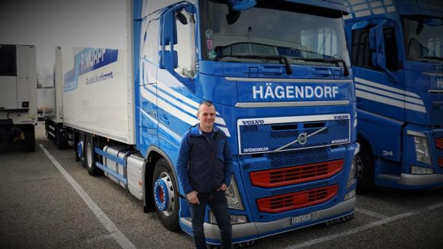 LKW-Fahrer Roger Roos fährt regelmässig in die Lombardei