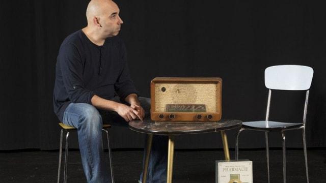 Carlos Henriquez – einer der Künstler der radiophonen Künstlerbörse.