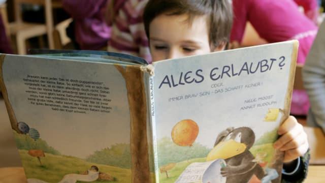 Lesebiografien beginnen in der Kindheit