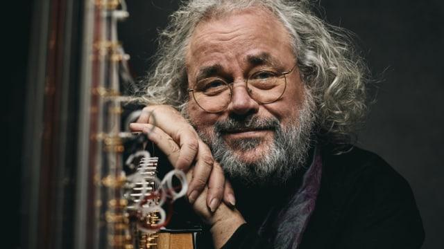 Der Mann und die Harfe: Andreas Vollenweider mit seinem Lieblingsinstrument