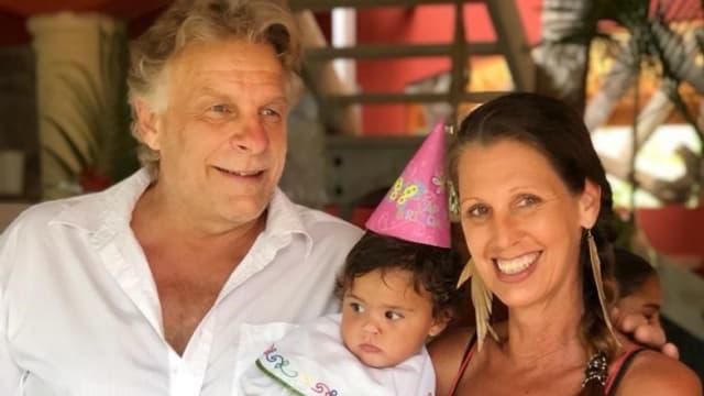 Reanto Visetti ist stolz auf seine Enkeltochter Junielli.
