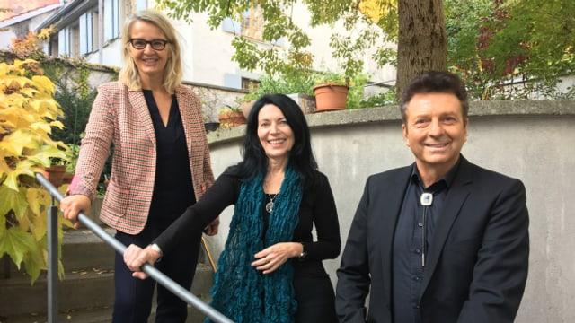 """""""Persönlich Gäste"""" von Sonja Hasler, Adriana Mettler und Bo Katzman"""