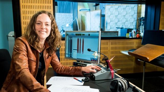 Hörspiel-Regisseurin Susanne Janson
