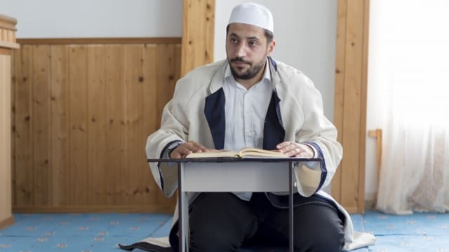 In der Moschee in Bürglen