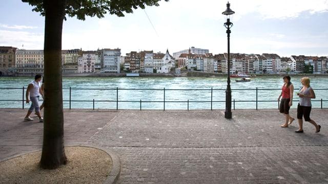 Ein ganzes Wochenende zum bewussten Spazieren findet ab heute in Basel statt.