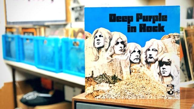 «Deep Purple» in der legendären Mark II Besetzung: Ian Gillan, John Lord, Ritchie Blackmore, Roger Glover und Ian Paice.