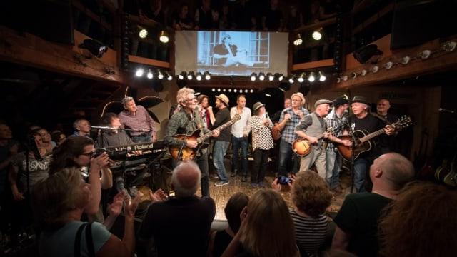 Das Konzert zu Ehren der verstorbenen Mundartlegende fand in der Mühle Hunziken statt