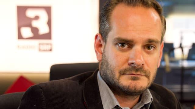 Jonas Lüscher zu Gast bei SRF 3 Focus.