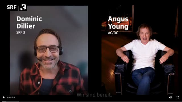Angus Young im Rock Special-Videointerview