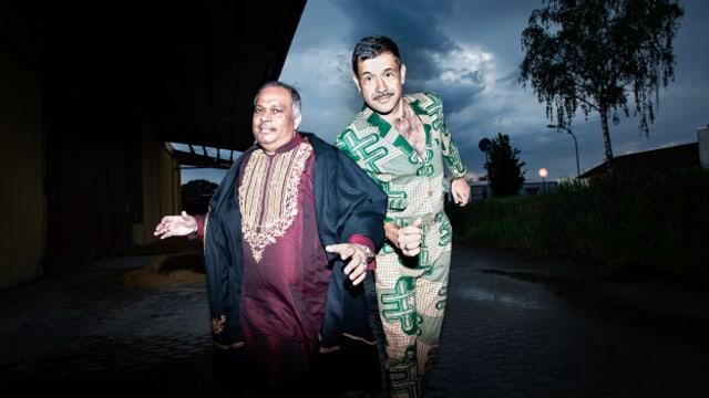 Ashraf Sharif Khan & Viktor Marek: Die Sufi Dub Brothers.