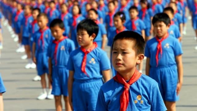 Uniform ist Pflicht an Chinas Schulen.