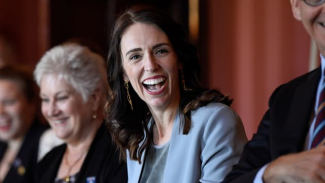 Jacinda Ardern (40), die neuseeländische Premierministerin