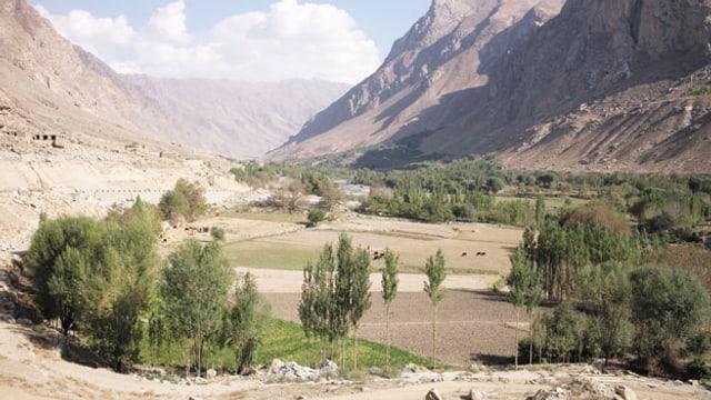 Warduj - (Das Warduj-Tal) in Badakhshan im Norden Afghanistans war bis diesen Sommer von den Taliban besetzt.