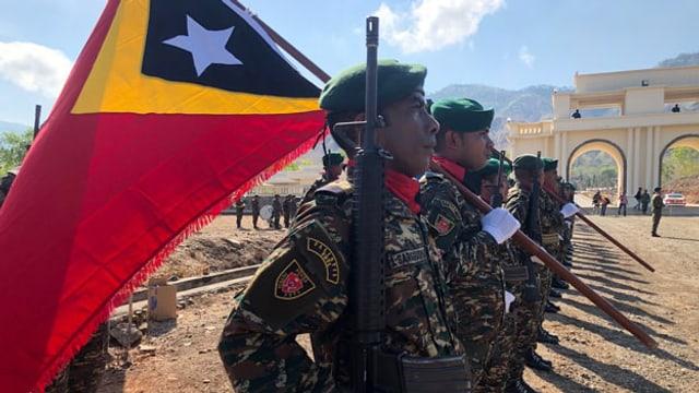 Gedenken an die Freiheitskämpfer: Der Weg Osttimors in die Freiheit war schmerzhaft. Die Wunden sind noch nicht verheilt.