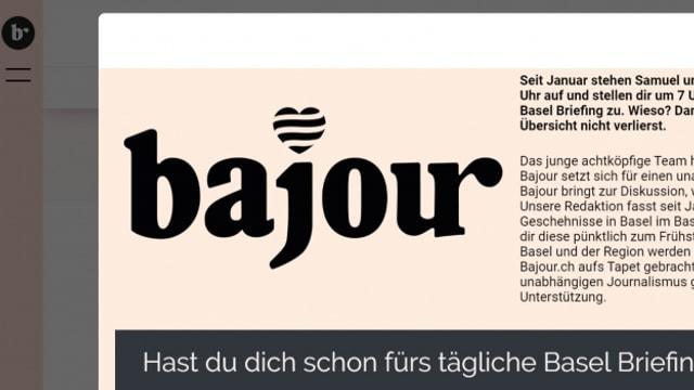 Screenshot von Bajour.ch