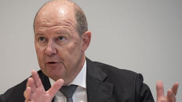 Valentin Vogt, Präsident Schweizerischer Arbeitgeberverband.