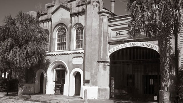 Der einstige Sklavenmarkt in Charleston (South Carolina).