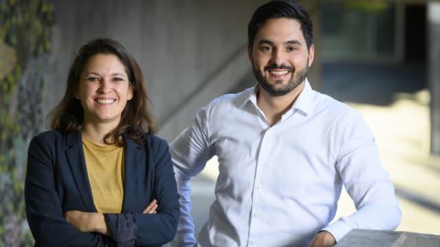 Das neue Duo an der SP-Parteispitze: Mattea Meyer und Cédric Wermuth