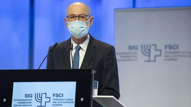 Ralph Lewin wird an der Delegiertenversammlung des Schweizerischen Israelitischen Gemeindebundes, SIG FSCI, am 18. Oktober 2020 in Bern zum neuen Präsidenten gewählt.