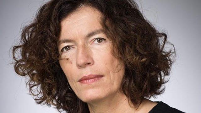 Die deutsche Autorin Anne Weber.