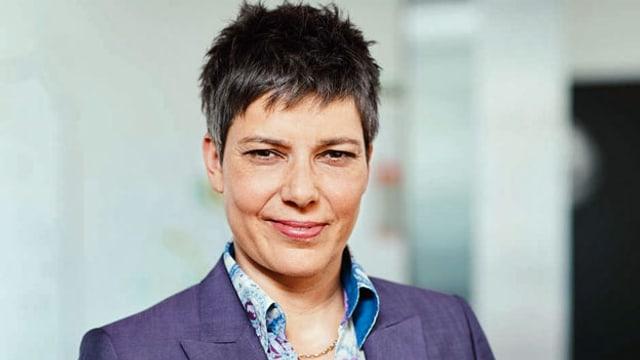 Korrespondentin Isabelle Jacobi berichtet seit 2017 für Schweizer Radio SRF aus den USA.