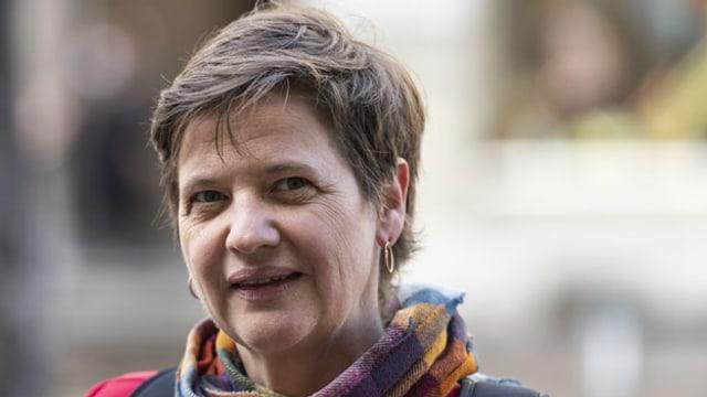 Sandra Künzi, Präsidentin der Theaterschaffenden Schweiz t. am 16. November 2020 in Bern.