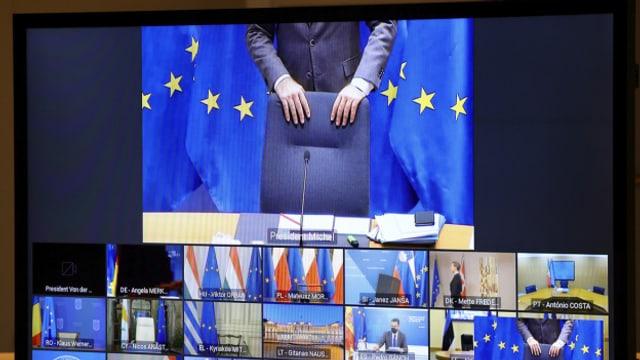 Der Video-Gipfel der 27 EU-Staats und Regierungschef am Abend brachte keine Lösung. Der Finanzstreit geht weiter.