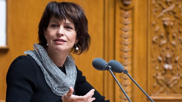 Bundespräsidentin Doris Leuthard.