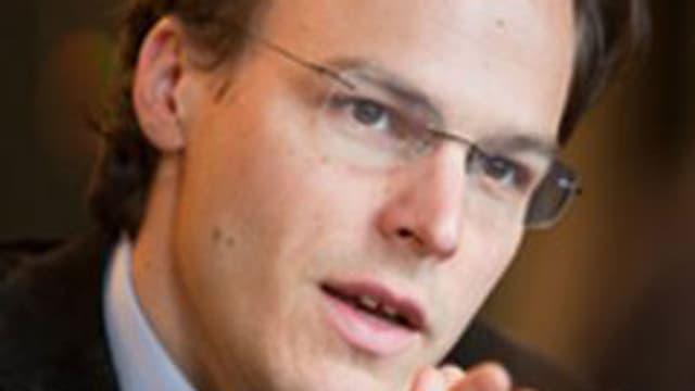 Der grüne Nationalrat und UREK-Präsident Bastien Girod.