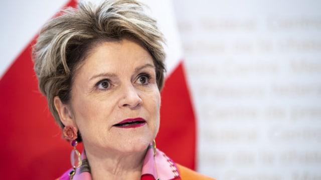 SECO-Chefin Marie-Gabrielle Ineichen-Fleisch.